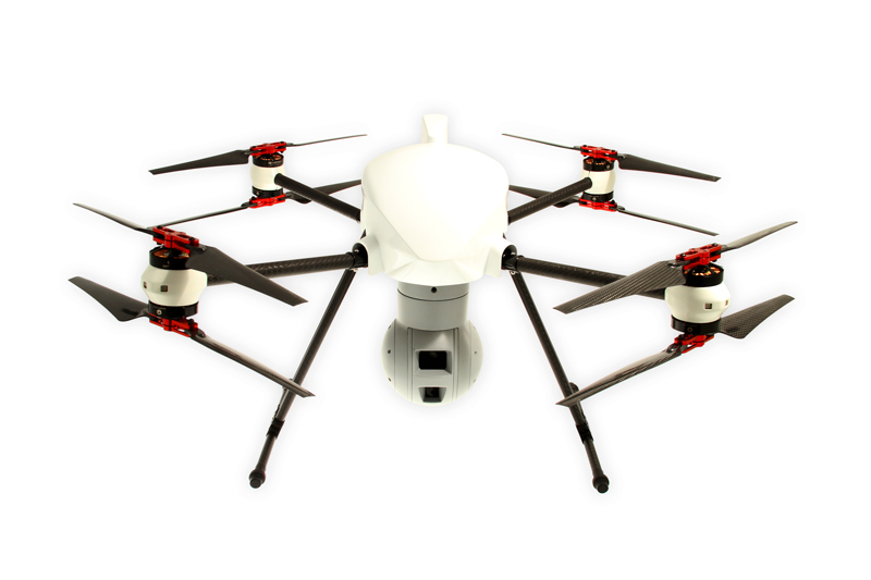 altigator onyxstar drone uav aerial surveillance security infrared hd zoom connex 360 gimbal 1 - XENA Observer