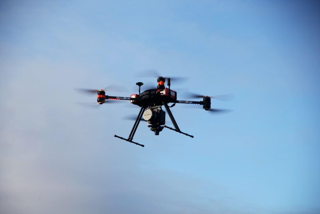 altigator onyxstar fox drone aerial lidar scanning sondage aerien - FOX