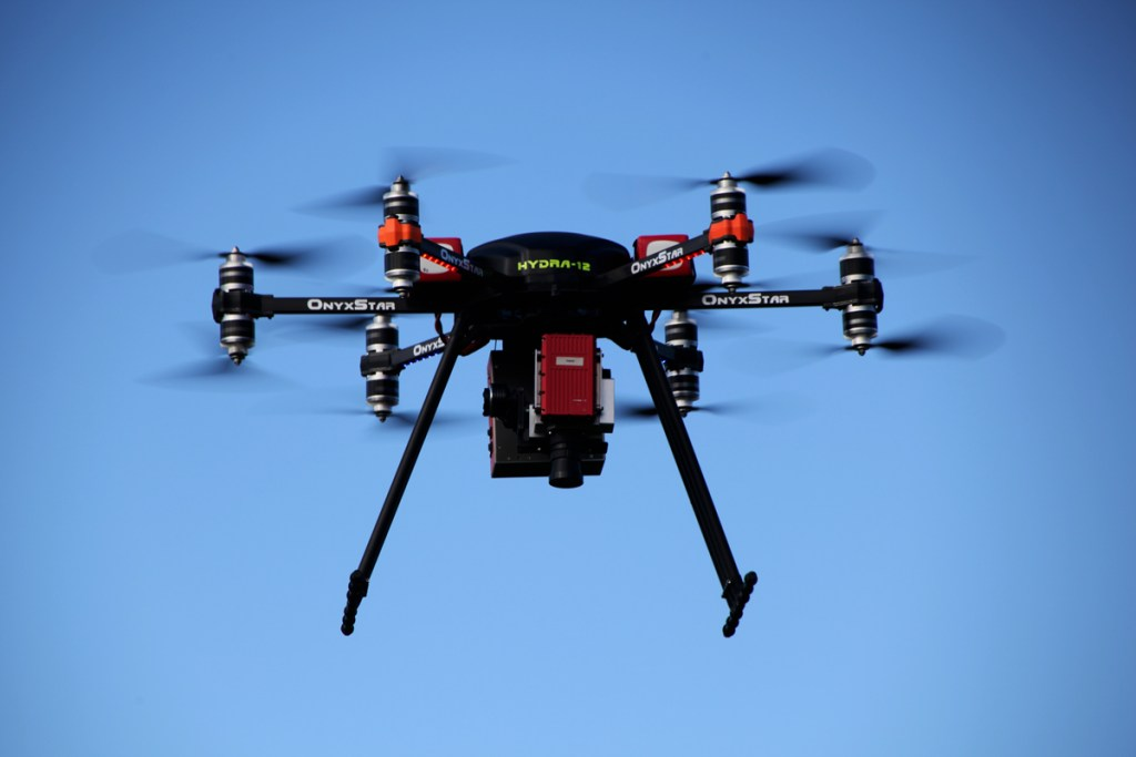 altigator onyxstar hydra drone specim hyperspectral camera heavy - HYDRA