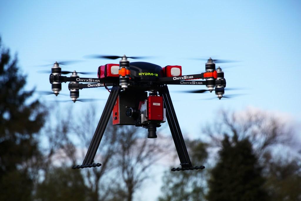 altigator onyxstar hydra drone uav uas heavy sensor lifting