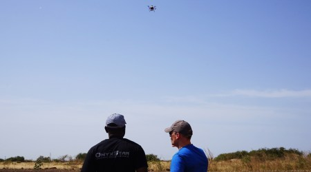Practical training for professional drone pilots