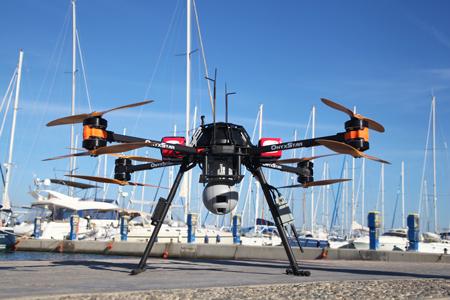 drone SAR secours en mer pour les migrants - Un drone pour secourir les migrants