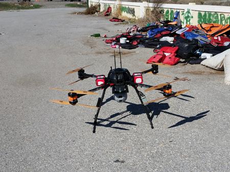 drone pour le secours des migrants - Un drone pour secourir les migrants