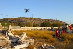 drone recherche et secours2 - Les drones en mission de recherche et sauvetage