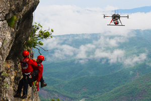 Drone search and rescue
