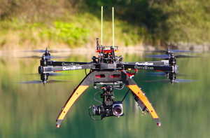 drone embedded thermal infrared camera