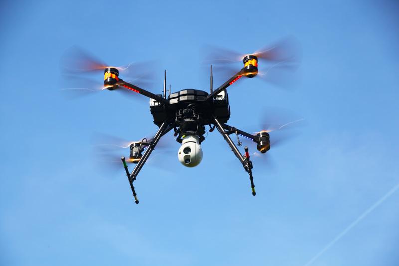 fox xt drone security surveillance uav - UAV solutions