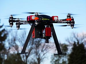 hydra heavy lifter uav drone uas rpas gros porteur compact - UAVs