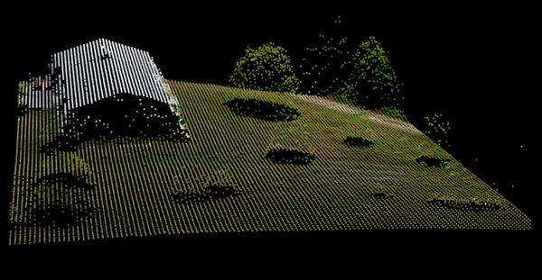 point cloud - Pythagoras - a powerful CAD & GIS software