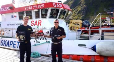 Le drone de la Redningsselskapet en Norvège pour la recherche et le sauvetage en mer