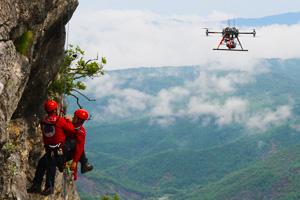 Secours et recherche par drone