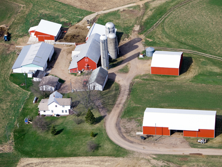 Farm: inspection and security surveillance