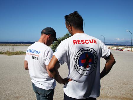 visite prevol drone avant mission de secours - Un drone pour secourir les migrants