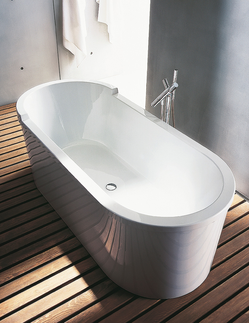 Duravit Starck 1800 X 800mm Oval Double Ended Freestanding
