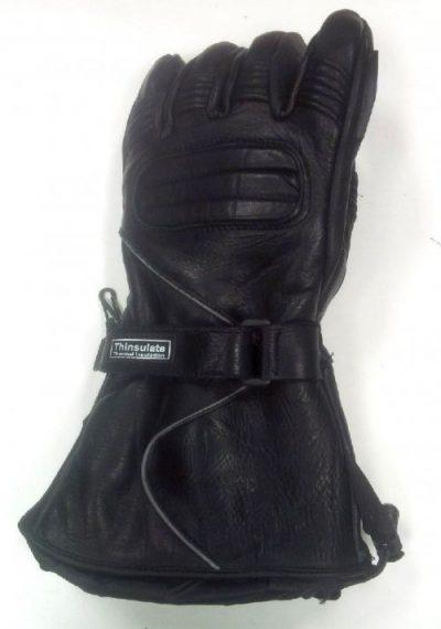 leather snowmobile glove