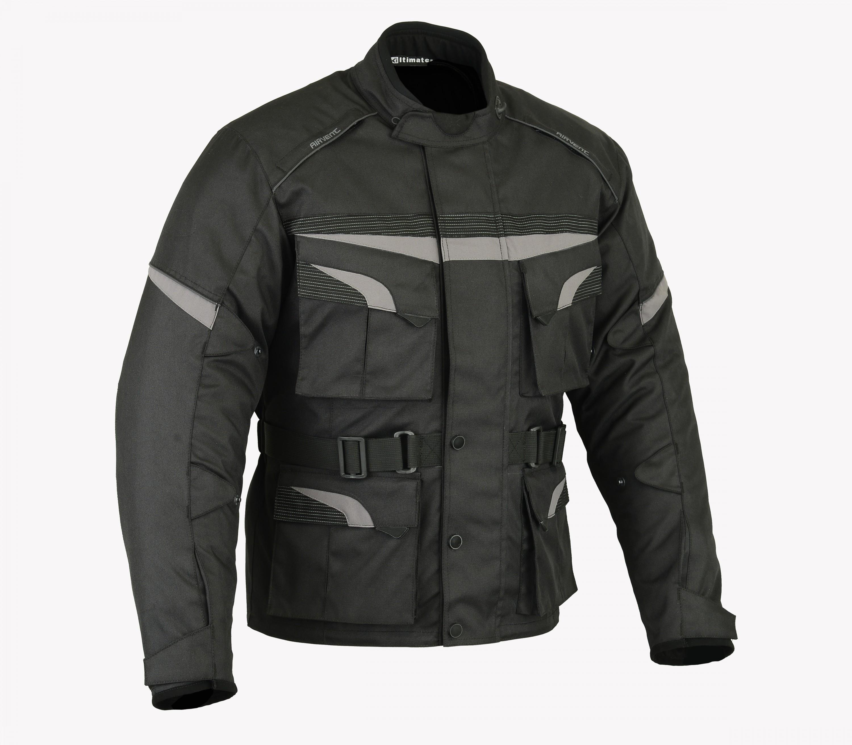 Mens Touring Adventure Dual Sport Motorcycle Jacket