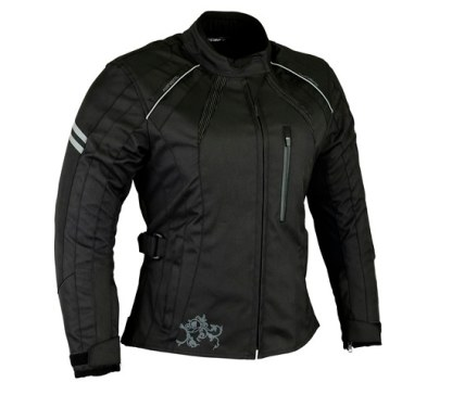 Womens Black Motorcycle jacket