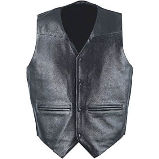 pocketed and button down vest