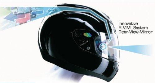 Black Gloss Motorcycle helmet