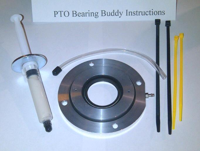 Ski-doo Pto bearing buddy for late model ski doo engines