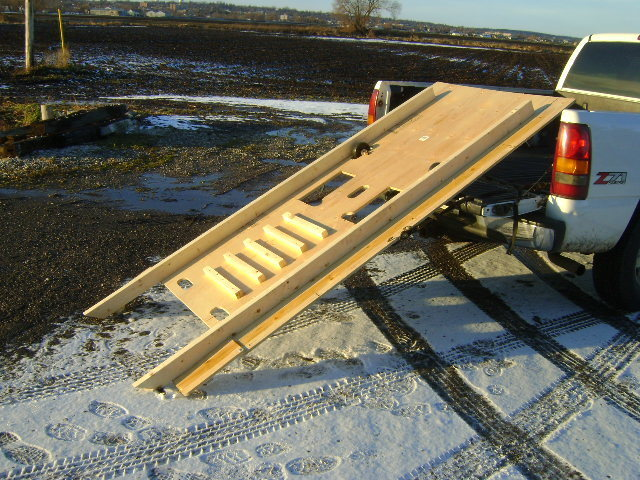 Snowmobile ramp and roll kit a do it yourself ramp build kit or you can solutioingenieria Choice Image