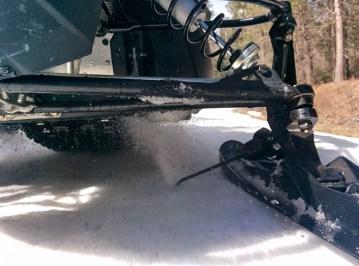 Snowmobile Ice scratcher
