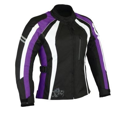 Purple Motorcycle Jacket