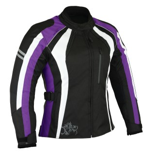 Purple Motorcycle Jacket