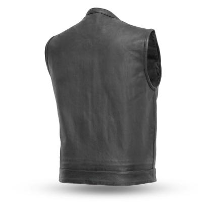 Leather Motorcycle Vest