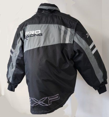Snowmobile jacket back