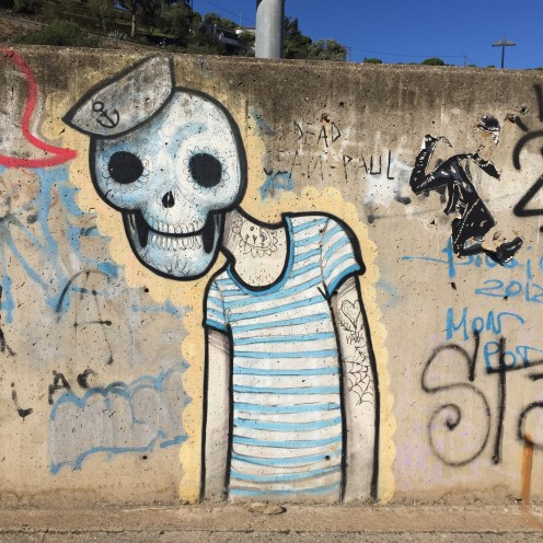 graffitis et street art a Cadaqués
