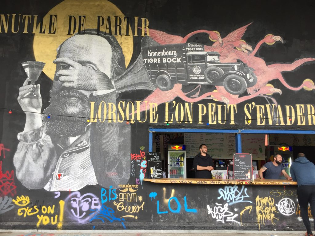Madame - Street Art France - l'aérosol - Paris