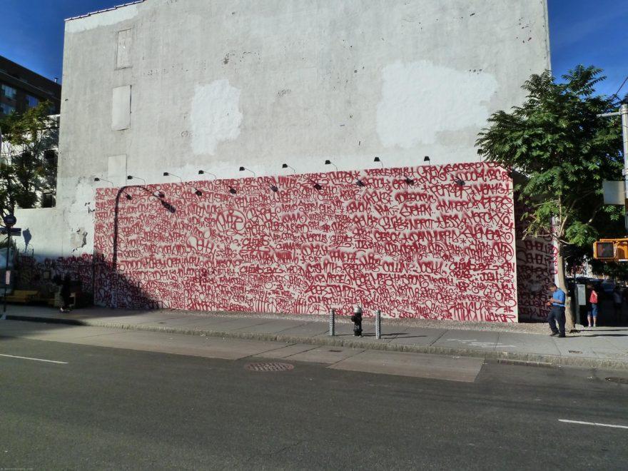 Houston Bowery Wall par Twist & Amaze