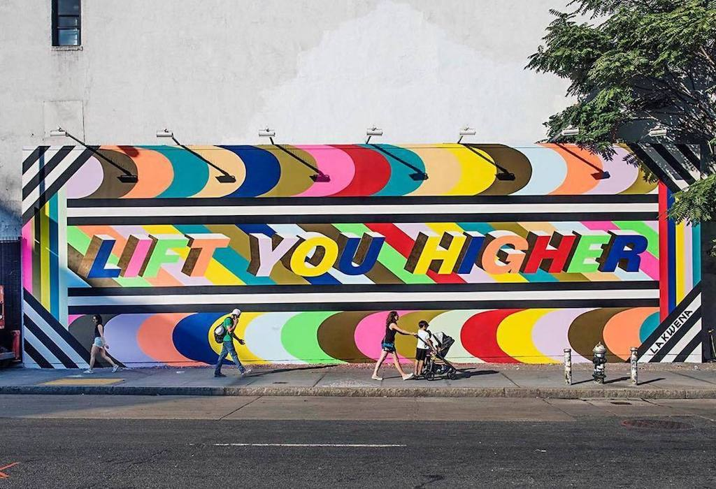 Houston Bowery Wall par Lakwena