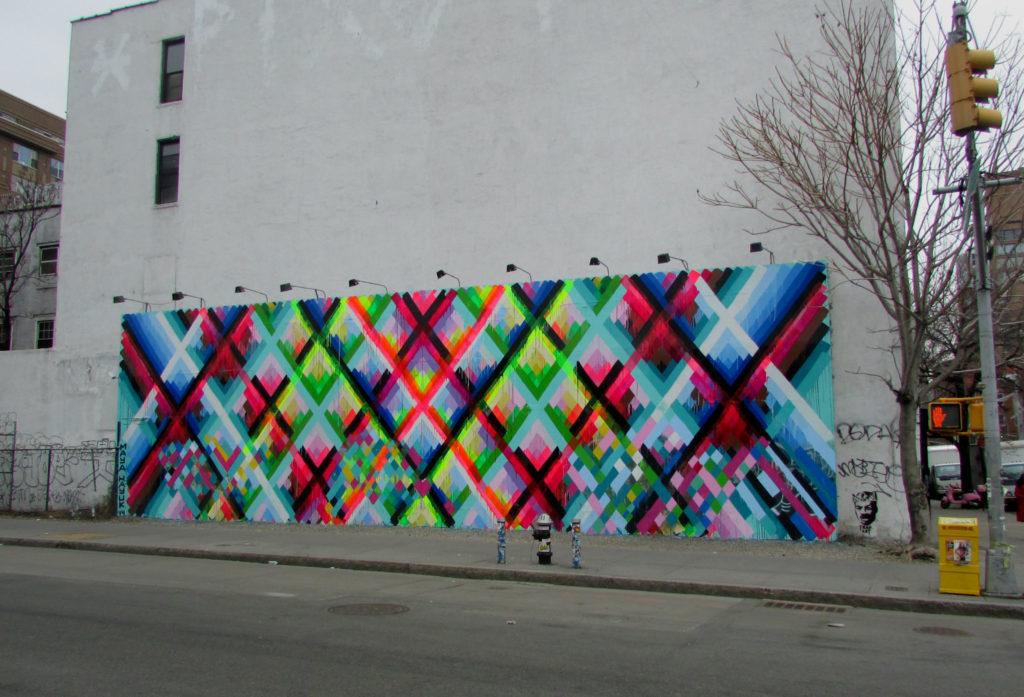 Houston bowery Wall par Maya Hayuk