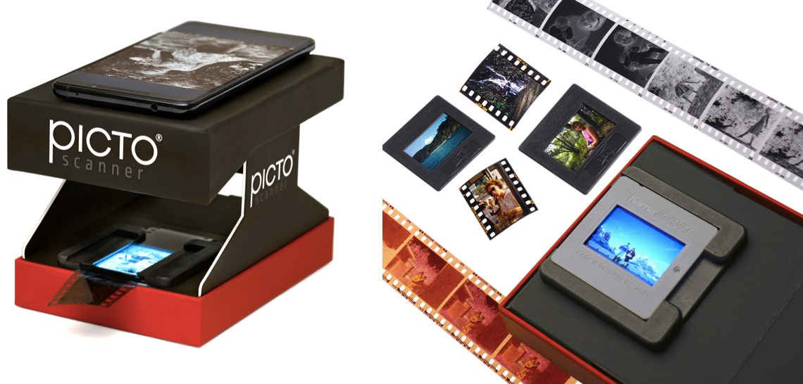 With Pictoscanner: Digitizing negatives & slides without a computer is a breeze!
