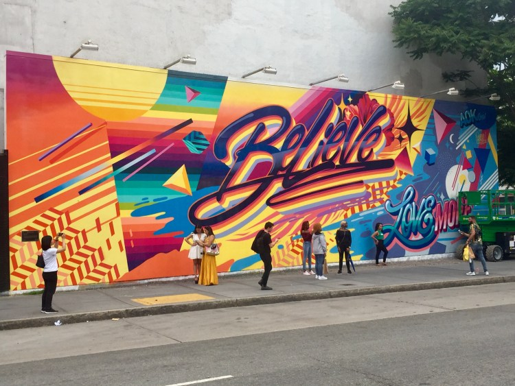 Houston Bowery Wall par Queen Andrea - Copyright : @Altinnov