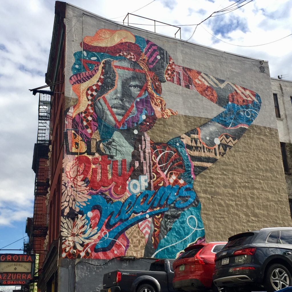 Big City of Dreams par Tristan Eaton - Street Art New York - Altinnov.blog