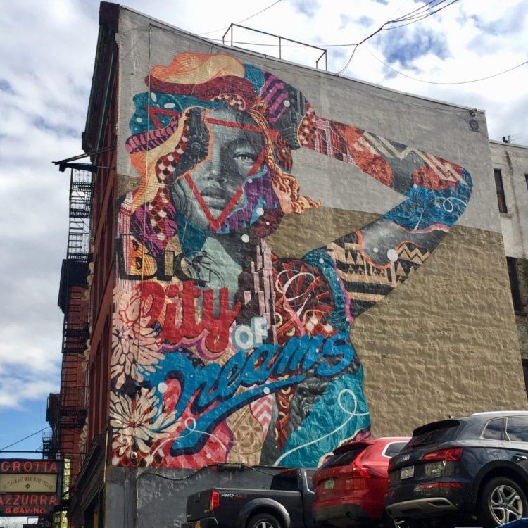 Big City of Dreams par Tristan Eaton - Street Art New York - Altinnov.blog
