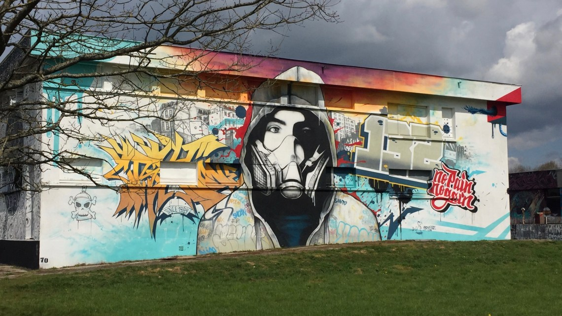 Discover Street Art City, the home of Street Art in the French countryside!