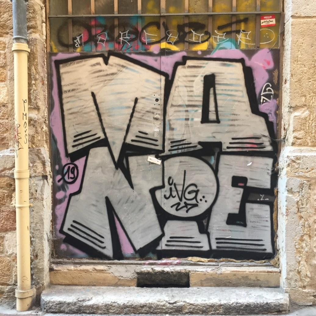 Graffiti - Blaze - la croix-rousse Lyon Street Art France