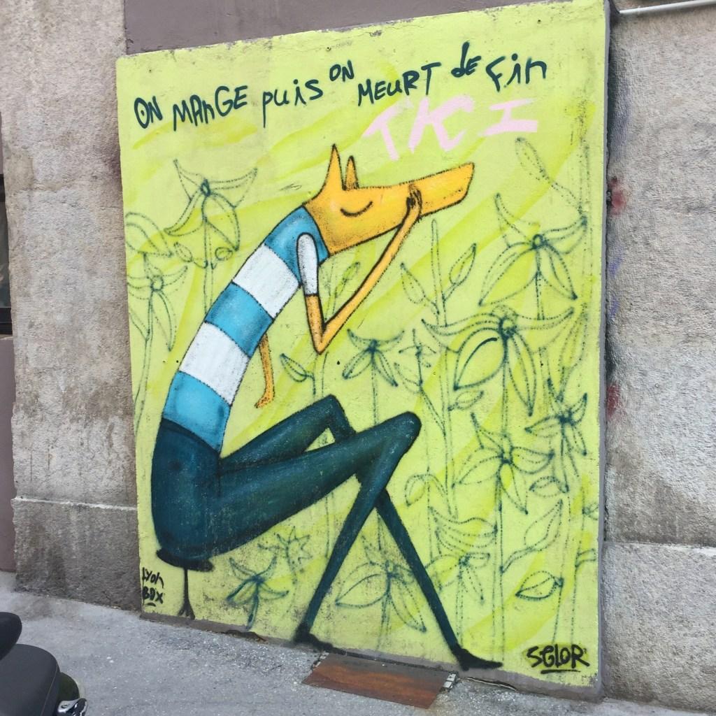 Fresque murale réalisée par l'artiste international David Selor à Lyon