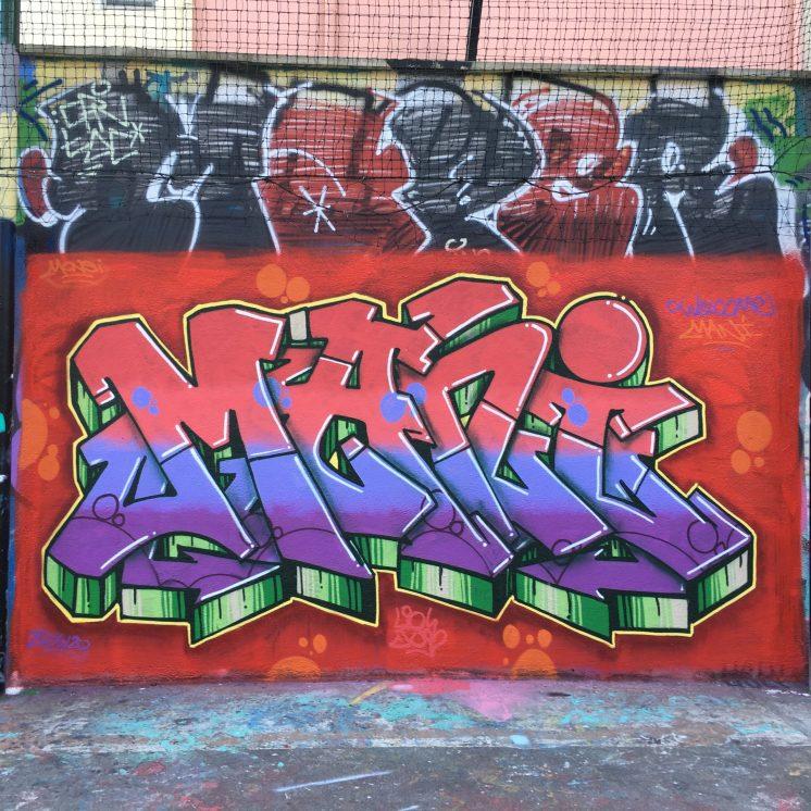 Street Art à Lyon - Graffitis & Blaze sur les pentes de la Croix-Rousse