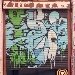 fresque murale réalisée par l'artiste international Brusk à Lyon