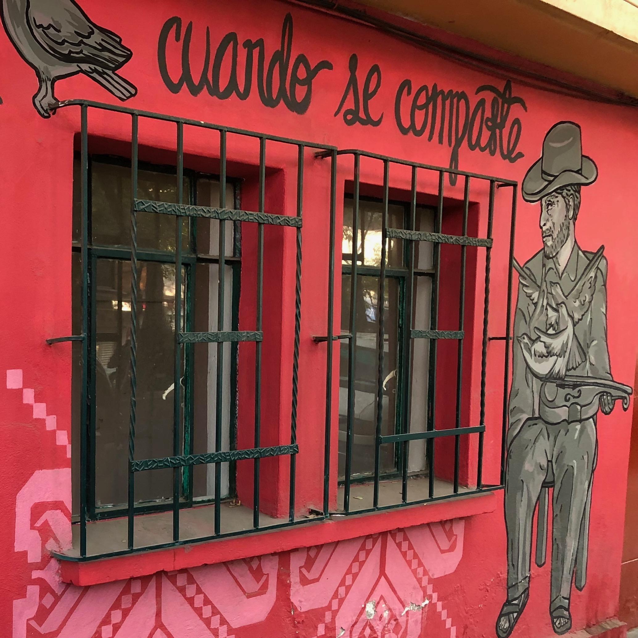 Art urbain Mexico - Roma Norte - Mexico City - Artiste Chauiztle