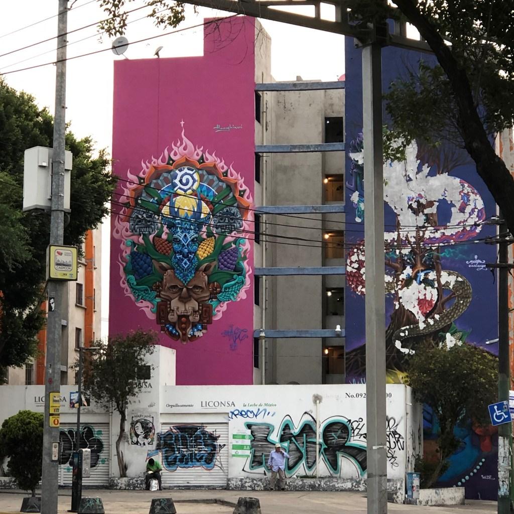 Mandala Mexicain réalisée par Safre Honghikuri à Mexico City