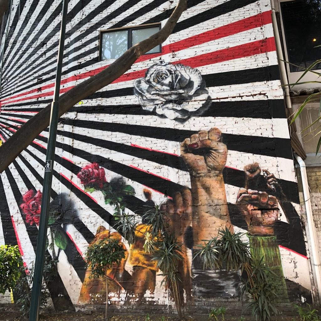 Street Art Mexicain : Las dos Fridas Hommage aux secouristes - Copyright: @Altinnov