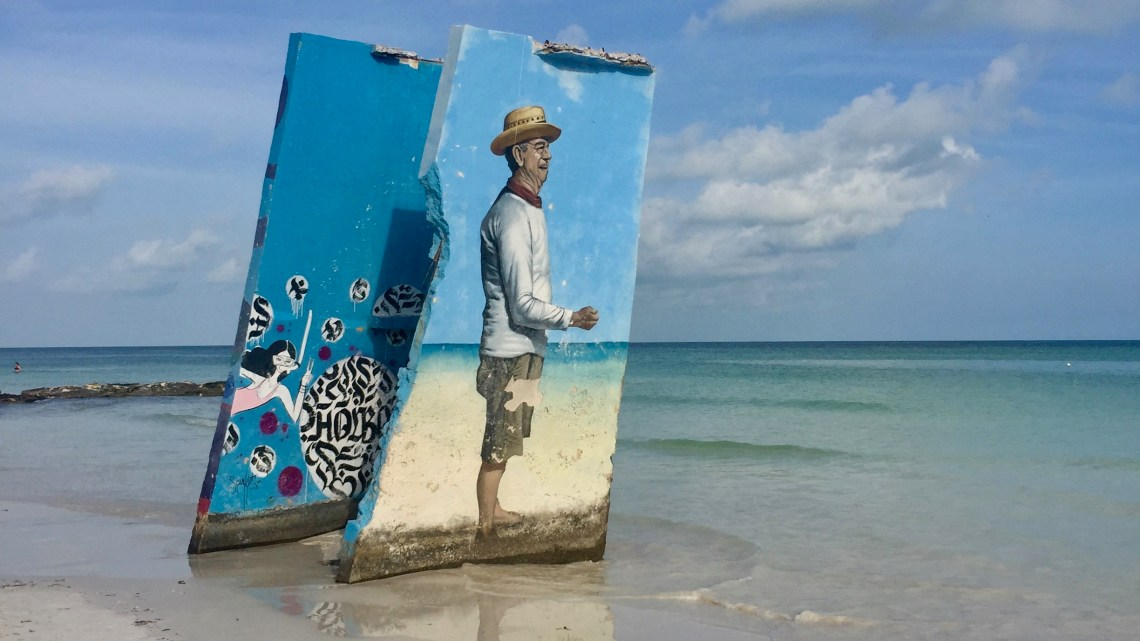 The wonderful island of Holbox in Mexico is also the Street Art's Paradise!