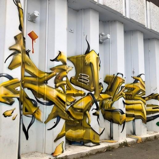 Graffitis et Blaze à découvrir au Rosa Bonheur d'Asnières - Copyright : @Altinnov