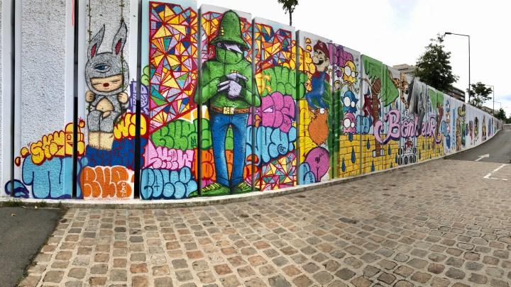 Le meilleur Apéro* Street Art de Paris est au Rosa Bonheur d'Asnières !